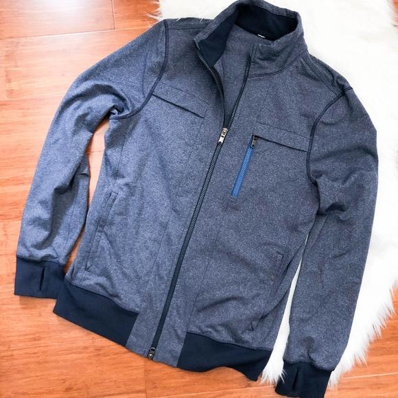 5b3d99b80 Lululemon Harrington Zip Up Athletic Jacket M